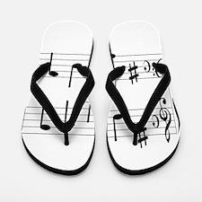 Music Chord Flip Flops