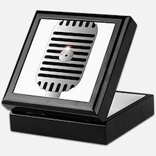 Classic Microphone Keepsake Box