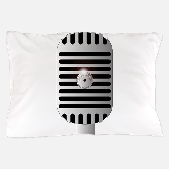 Classic Microphone Pillow Case