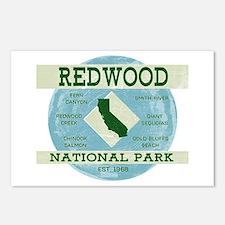 Redwood National Park Vin Postcards (Package of 8)