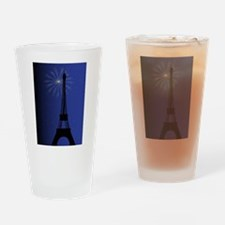 Paris Night Drinking Glass