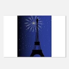 Paris Night Postcards (Package of 8)