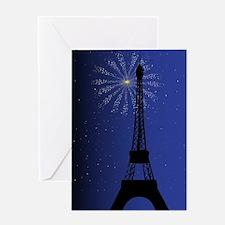 Paris Night Greeting Cards