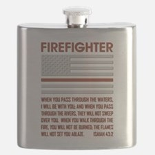 THIN RED LINE Flask