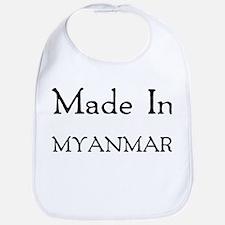 Made In Myanmar Bib