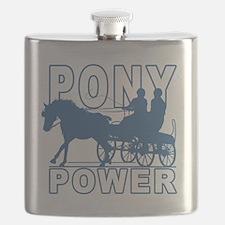 Unique Horses carriages Flask