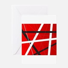Criss Cross Background Greeting Cards