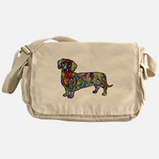 Wild Dachshund Messenger Bag