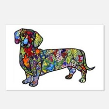 Wild Dachshund Postcards (Package of 8)