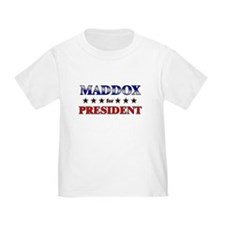 MADDOX for president T