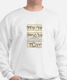 Horse Treats Sweatshirt