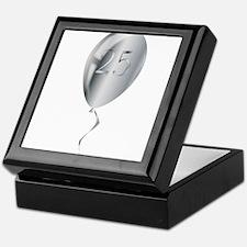 Silver Anniversary Balloon Keepsake Box