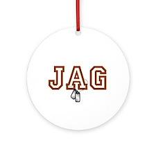 jag Ornament (Round)