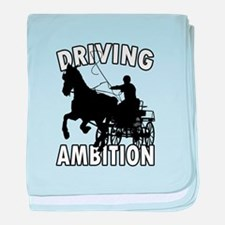 Driving Ambition baby blanket