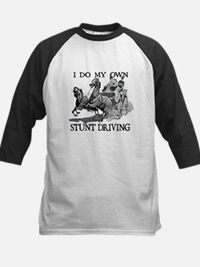 I Do My Own Stunt Driving Baseball Jersey