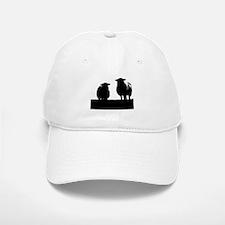 Two Welsh Sheep Baseball Baseball Cap