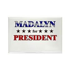 MADALYN for president Rectangle Magnet (10 pack)