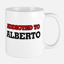 Addicted to Alberto Mugs