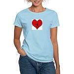 I heart Softball Women's Light T-Shirt