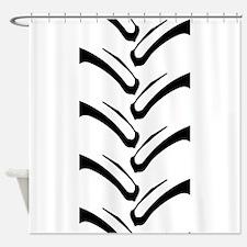 Tractor Tread Pattern Shower Curtain