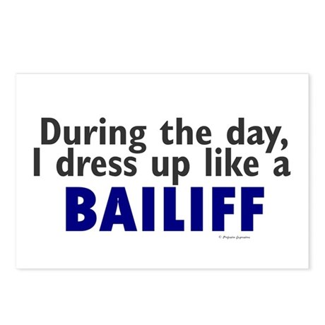 Dress Up Like A Bailiff Postcards (Package of 8)