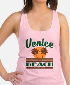 Cute Venice beach Racerback Tank Top