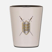 Crossed Swords and Shield Shot Glass