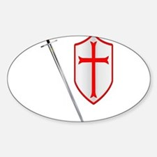 Crusaders Sword and Shield Decal