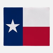Texas State Flag Throw Blanket