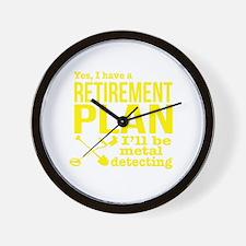 Cute Retirement ideas Wall Clock