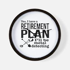 Funny Retirement ideas Wall Clock