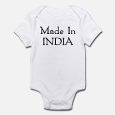 Made In India Infant Bodysuit