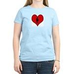 I heart Saxaphone Women's Light T-Shirt