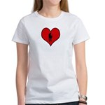 I heart Saxaphone Women's T-Shirt