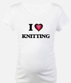 I Love Knitting Shirt