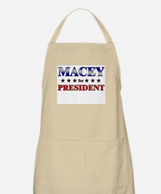 MACEY for president BBQ Apron
