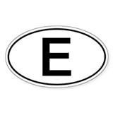 European oval country 10 Pack