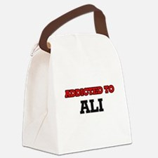 Addicted to Ali Canvas Lunch Bag