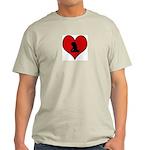I heart Rock Light T-Shirt