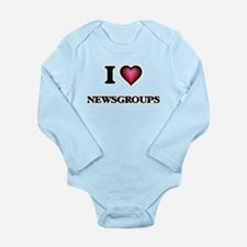 I Love Newsgroups Body Suit