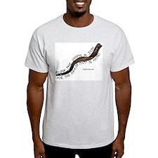Blow The Shofar In Zion Ash Grey T-Shirt
