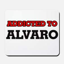 Addicted to Alvaro Mousepad