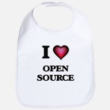 I Love Open Source Bib