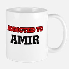 Addicted to Amir Mugs