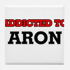 Addicted to Aron Tile Coaster
