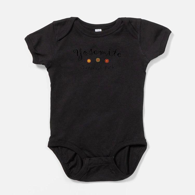 Cute Yosemite Baby Bodysuit