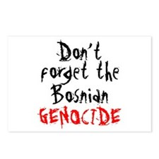 BOSNIAN GENOCIDE Postcards (Package of 8)