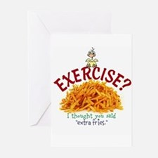 Exercise Greeting Cards