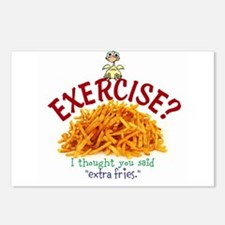 Exercise Postcards (Package of 8)