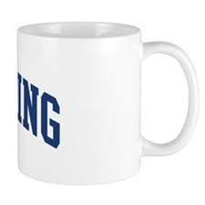 SPAULDING design (blue) Mug